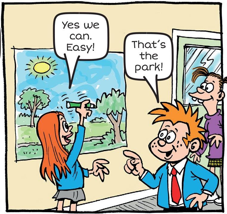 Arty Agnes draws park