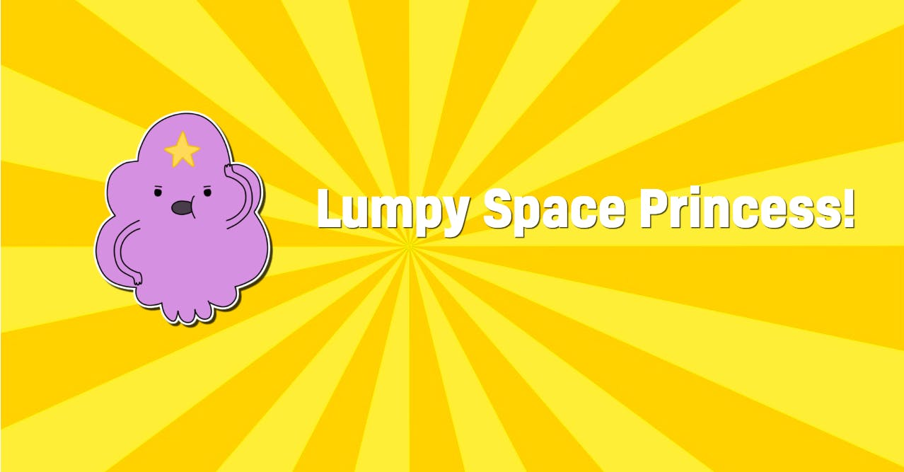 Adventure Time's Lumpy Space Princess