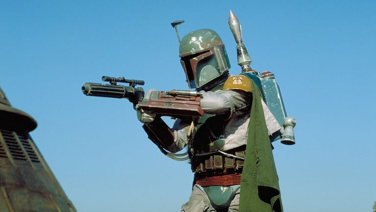 Boba Fett in Return Of The Jedi