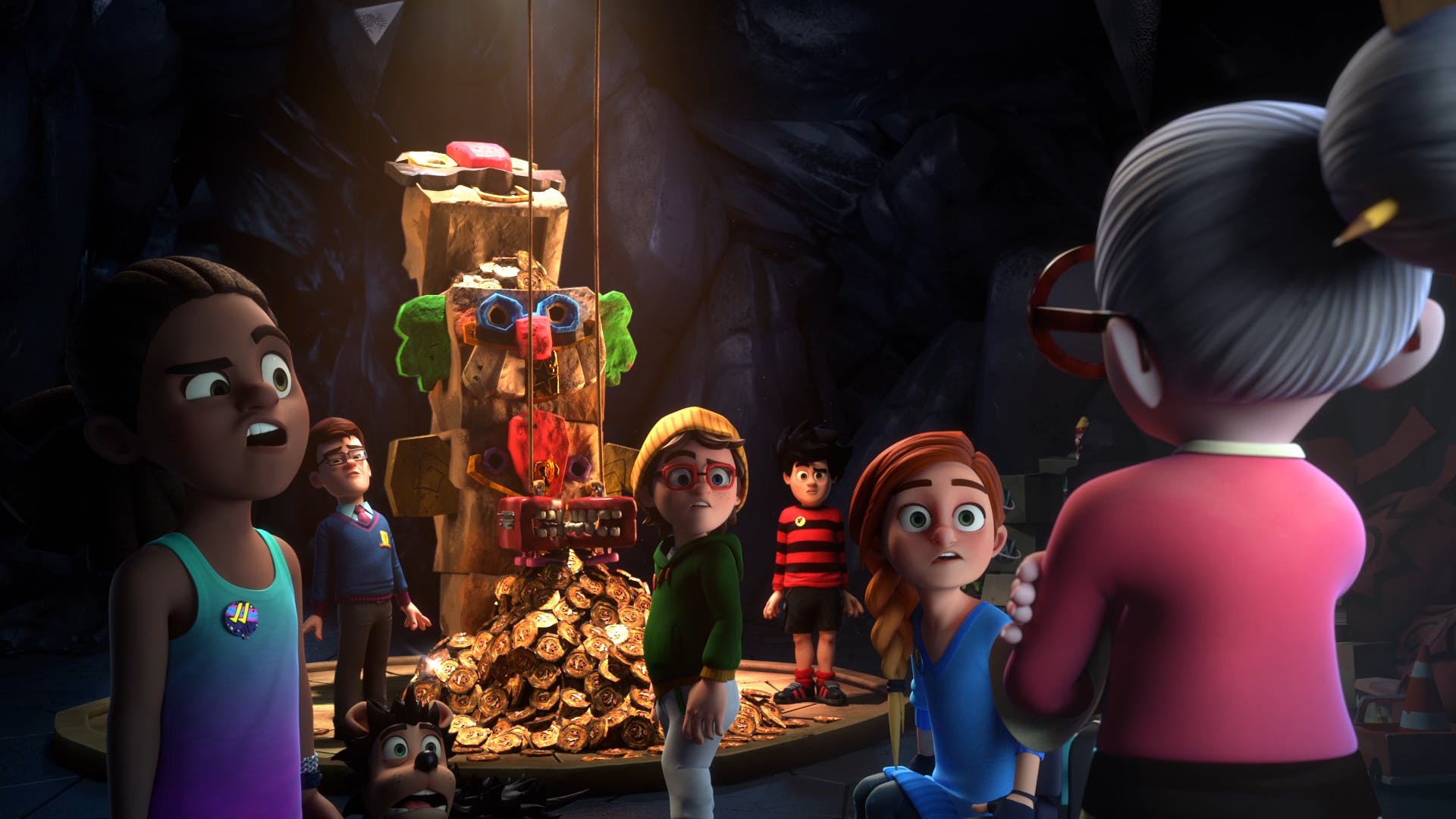 The gang goes on an adventure to find treasure in a hidden part of beanotown