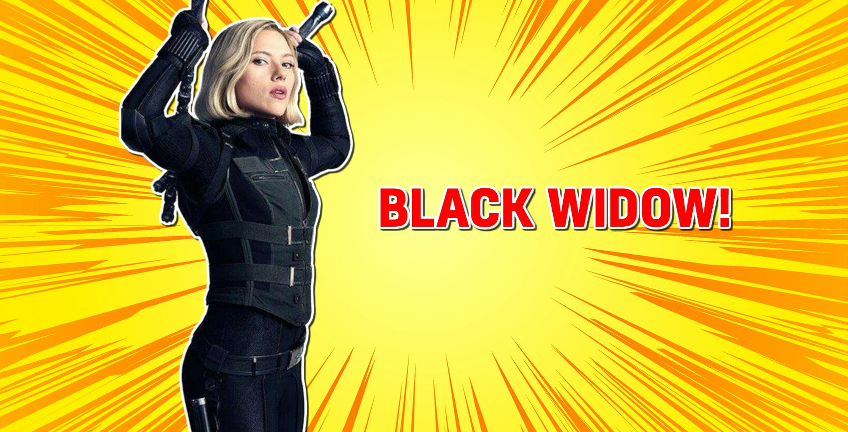 Black Widow in Avengers: Infinity War
