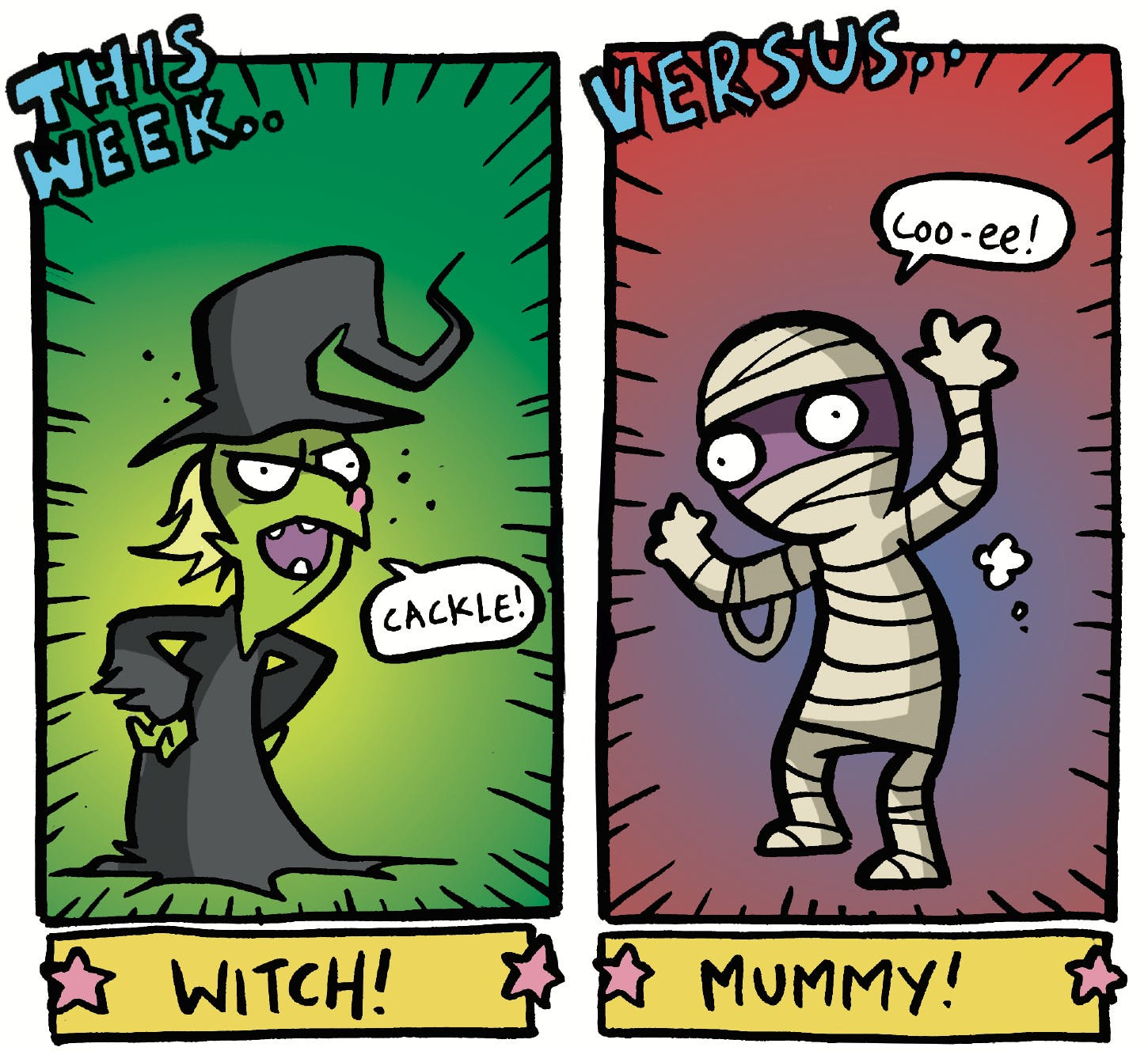 Arena of Awesome - Witch vs. Mummy