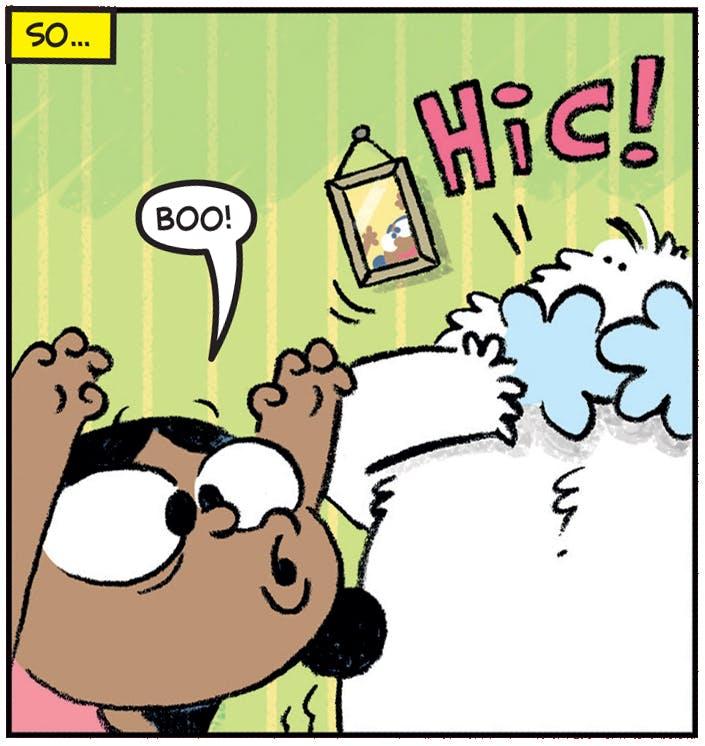 Boo! Hic!