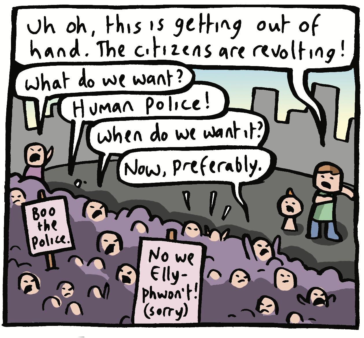 The citizens are revolting!