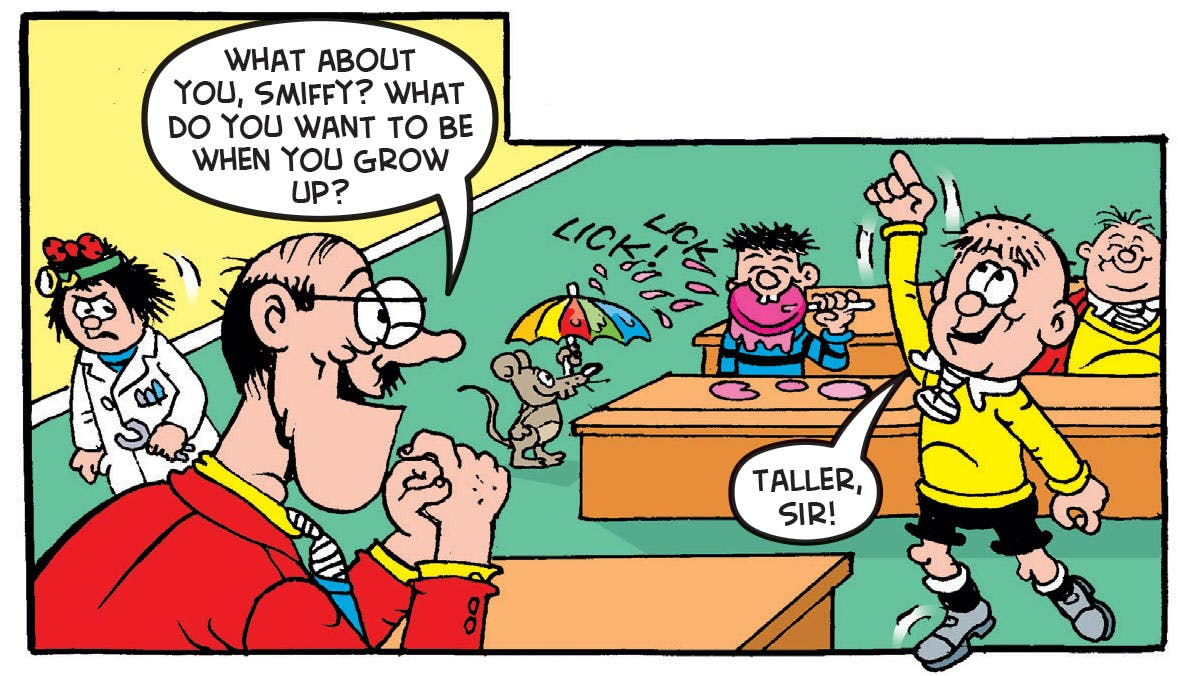 Bash Street Kids, Beano, Smiffy