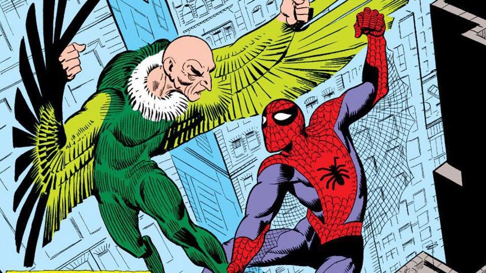 Marvel comic icon Spider-Man