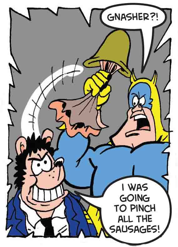 Bananaman unmasks the villain