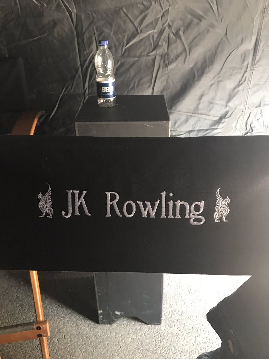 J.K. Rowling's chair