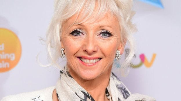 Debbie McGee as seen on TV!