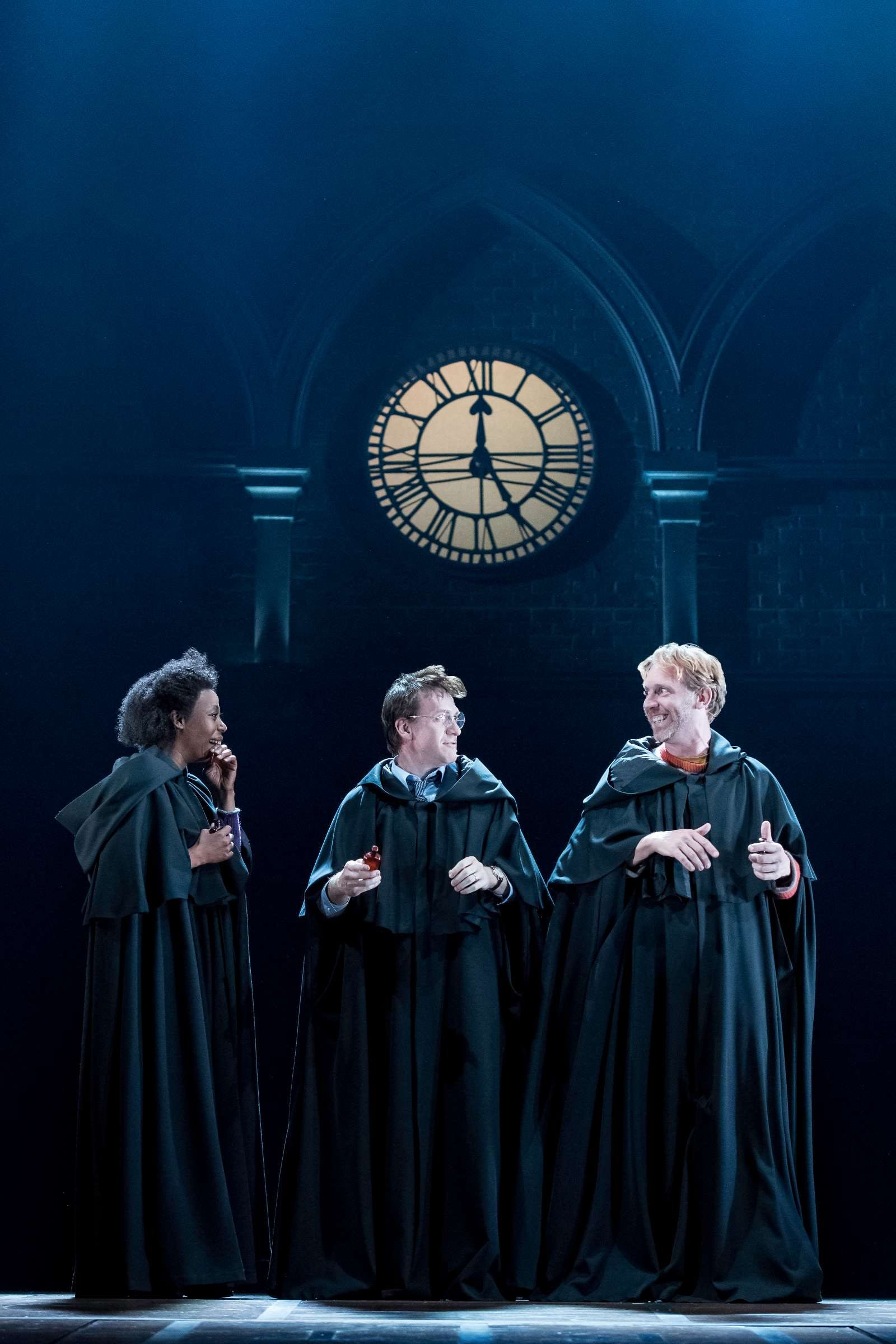 Ron, Hermione and Ron in Harry Potter and the Cursed Child