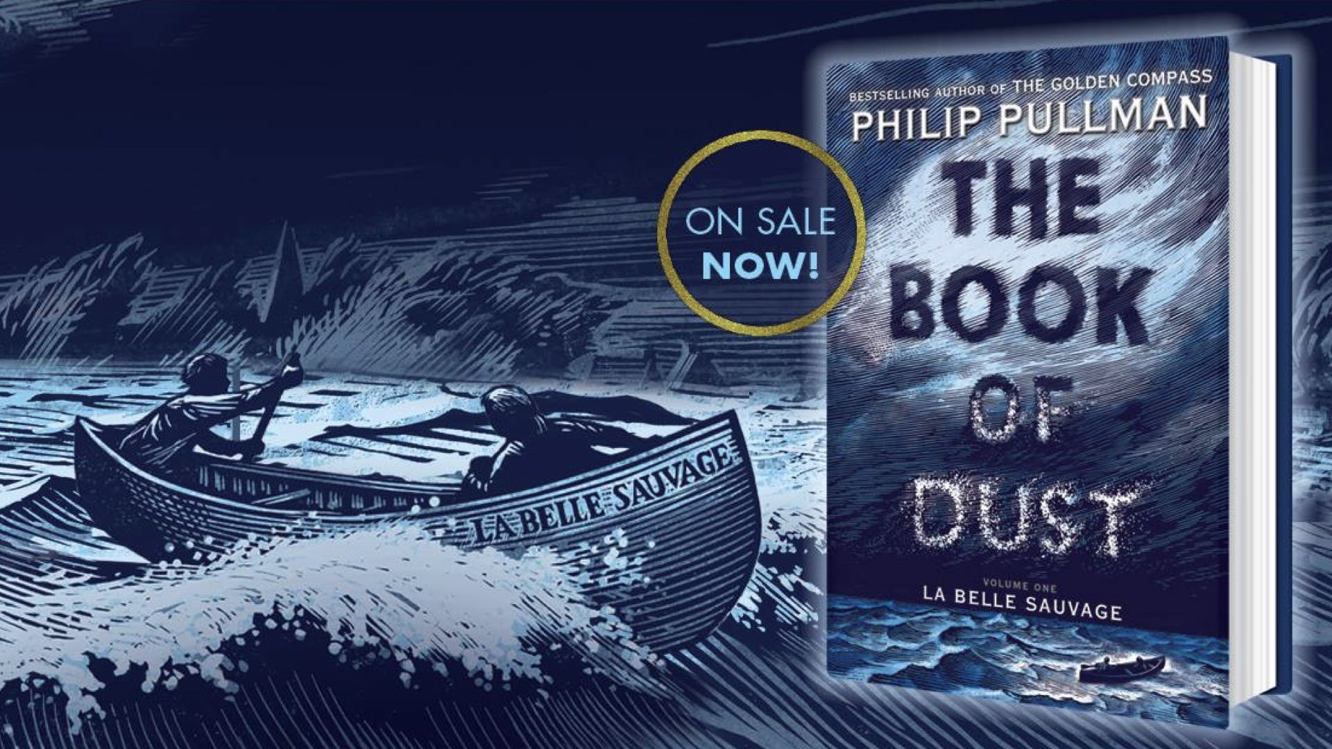 The Book of Dust Vol 1: La Belle Sauvage - Philip Pullman