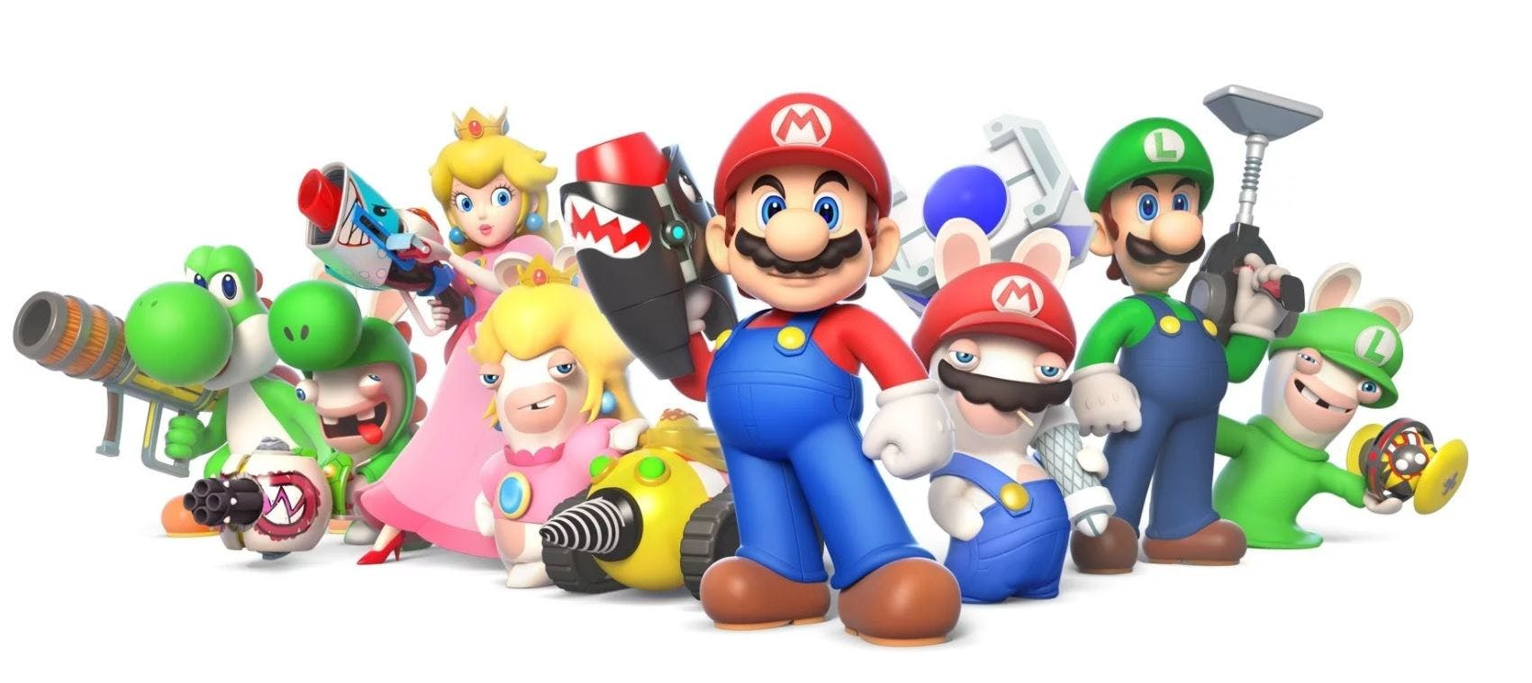 Mario and Rabbids are making mischief!