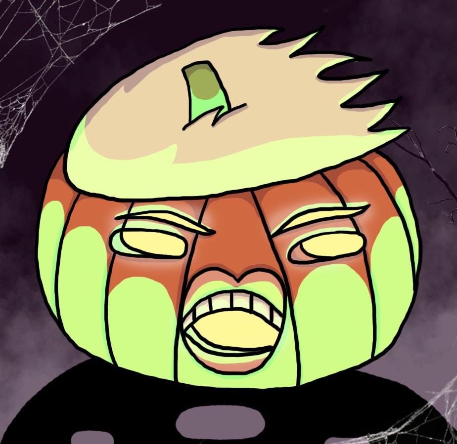 Spooky Trumpkin is spooky
