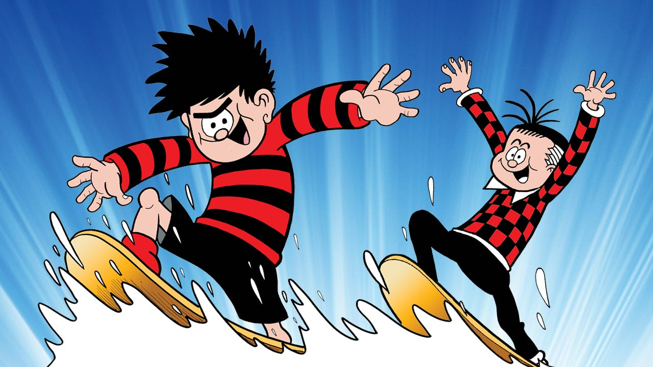Dennis and Rodger surfing on a mystery