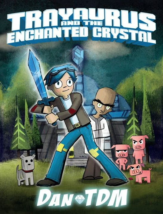 Trayaurus and the Enchanted Crystal –DanTDM