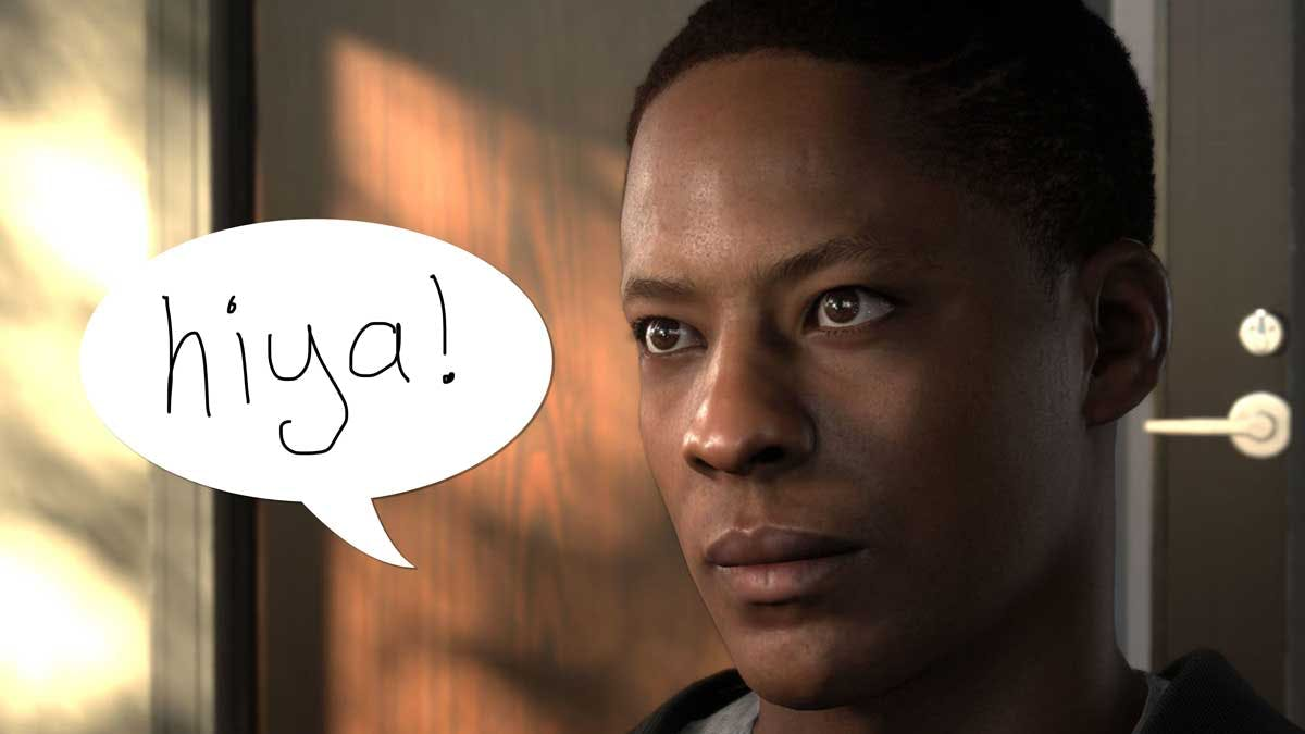 Alex Hunter and his mystery voice
