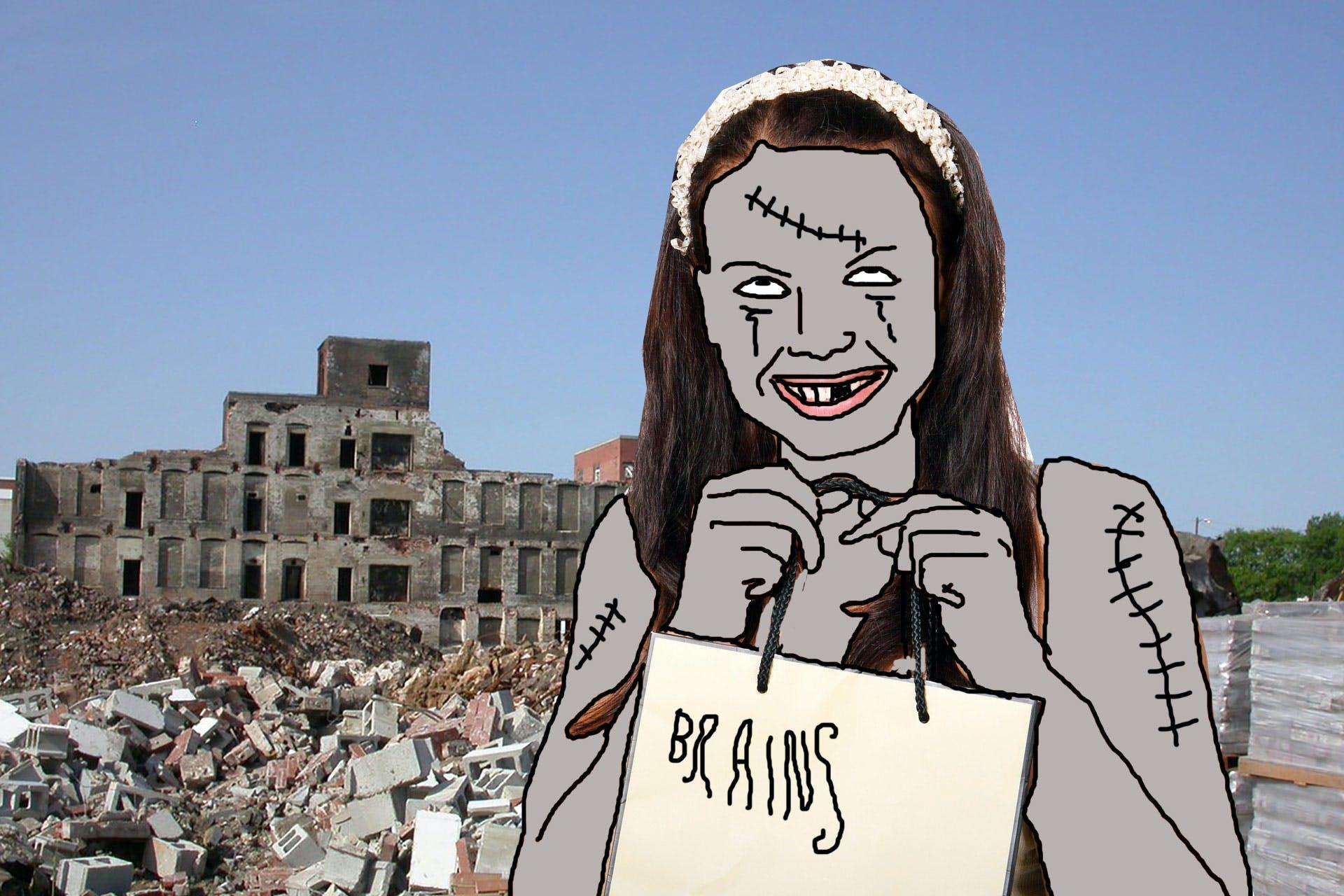 Zombie sister
