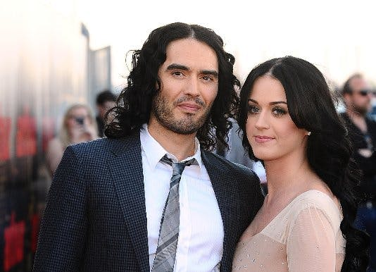 Katy Perry and former husband Russell Brand
