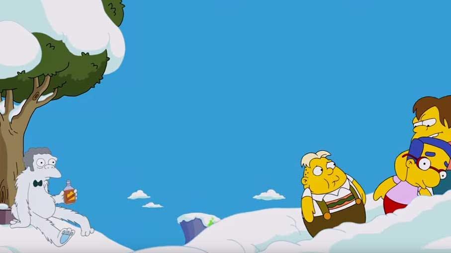 Moe as Snow Golem