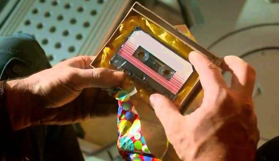 Peter's Guardians Of The Galaxy tape