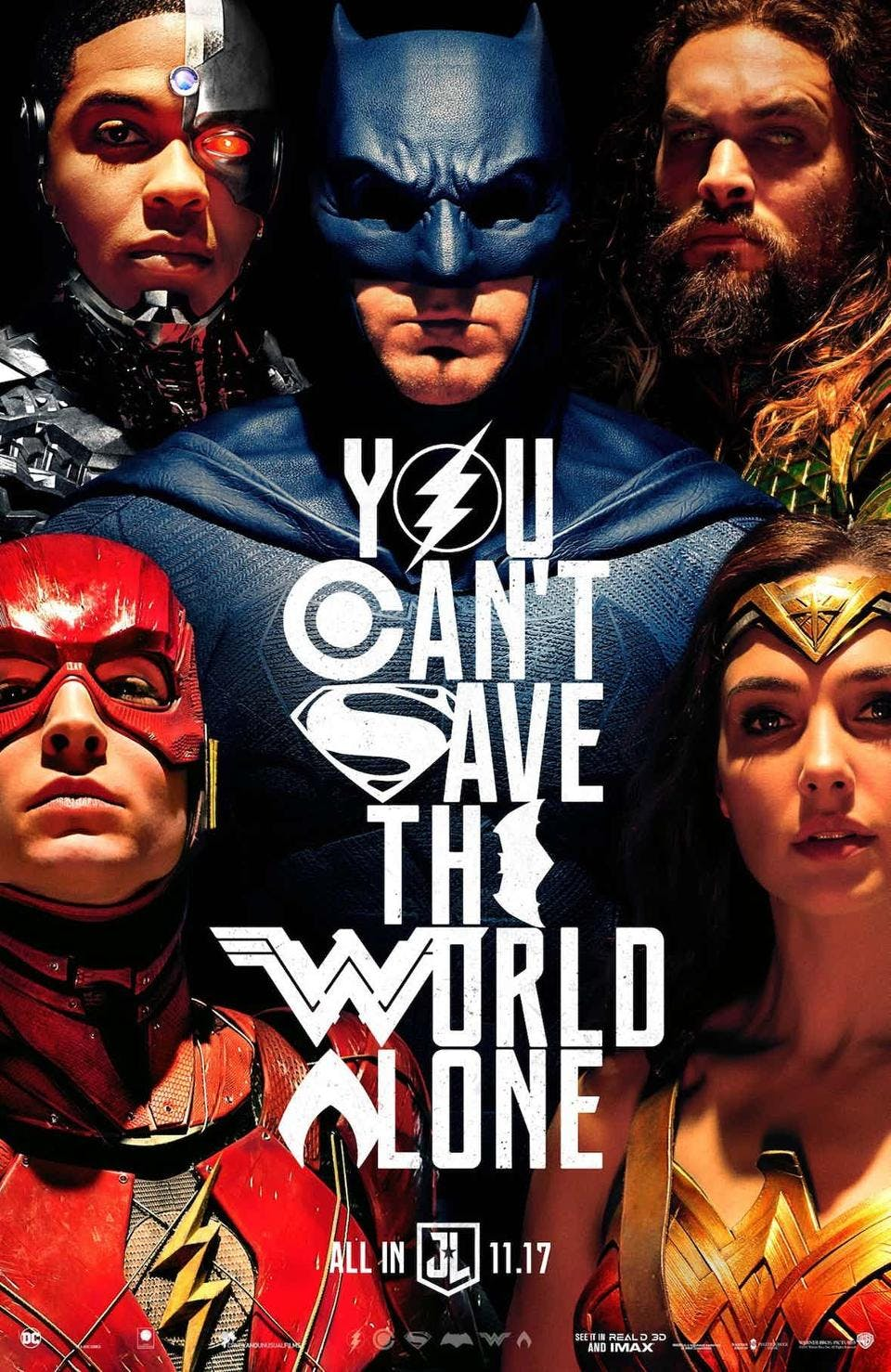 Awesome Justice League poster