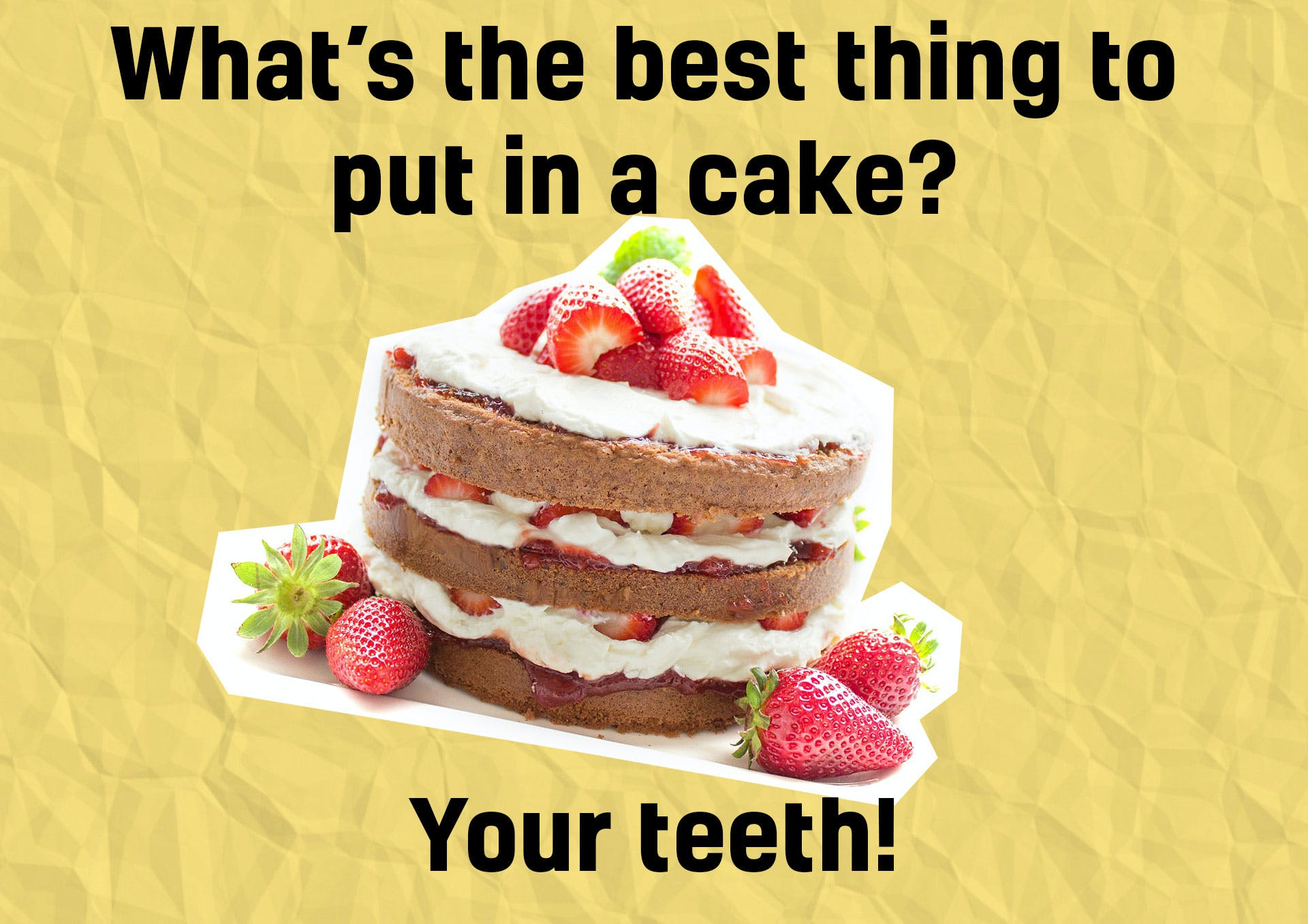 Cake joke