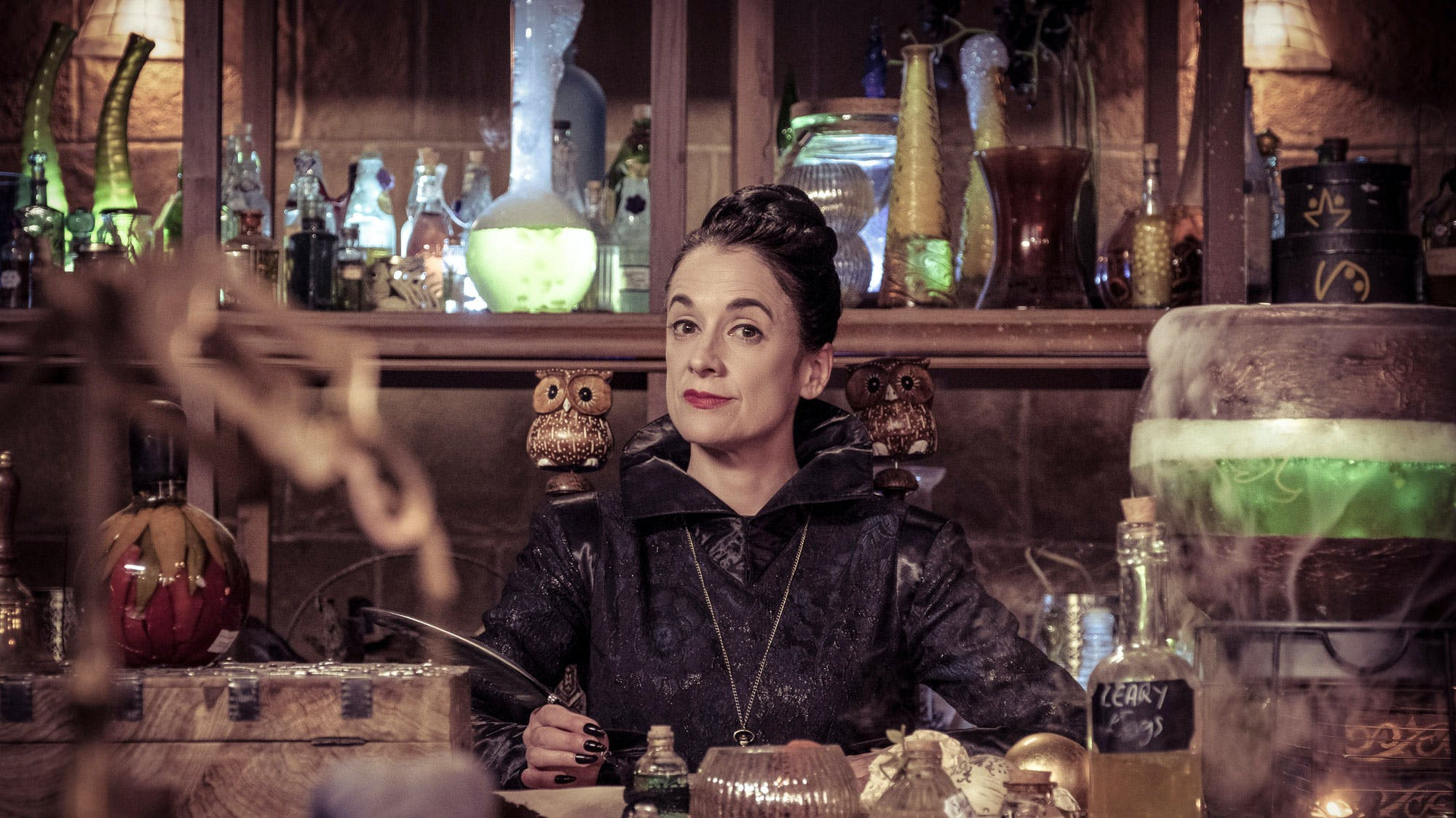 Miss Hardbroom from The Worst Witch