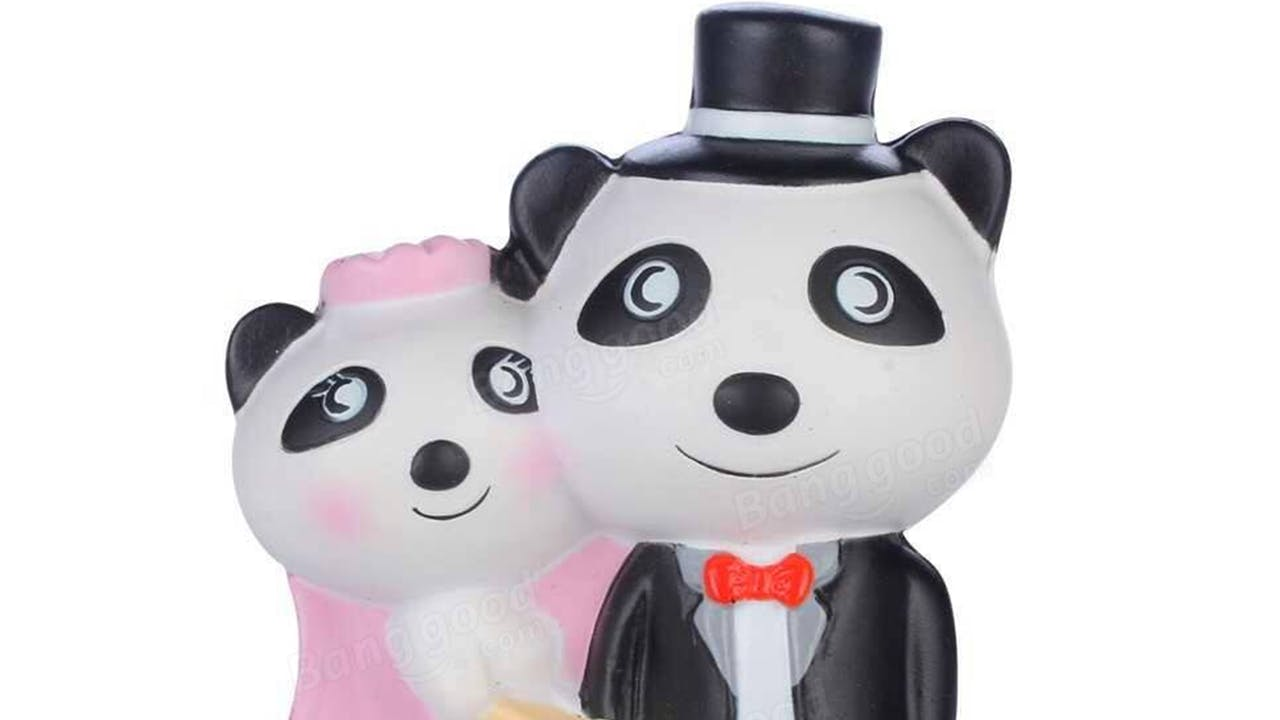 Pandas getting married