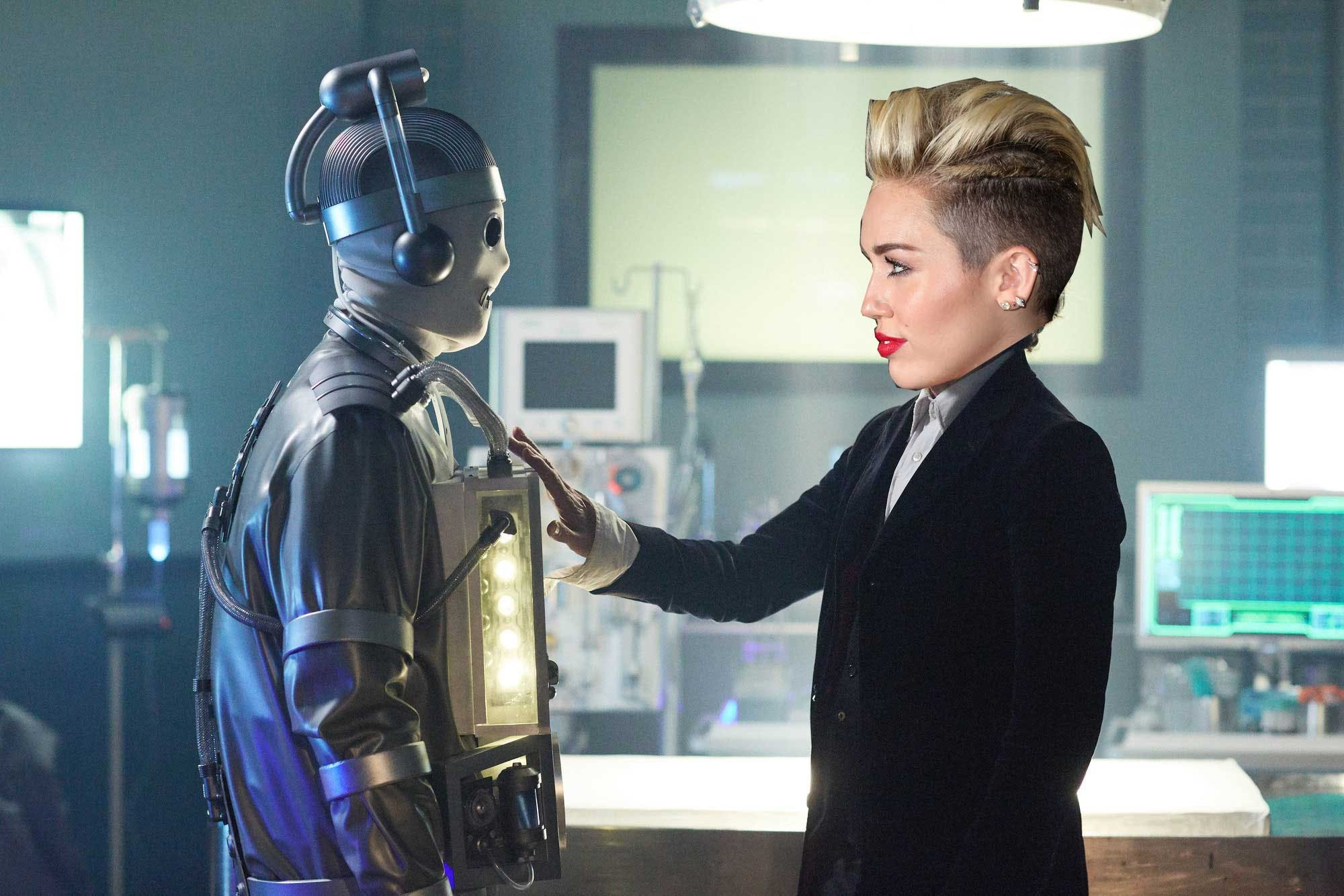 Miley Cyrus in Doctor Who