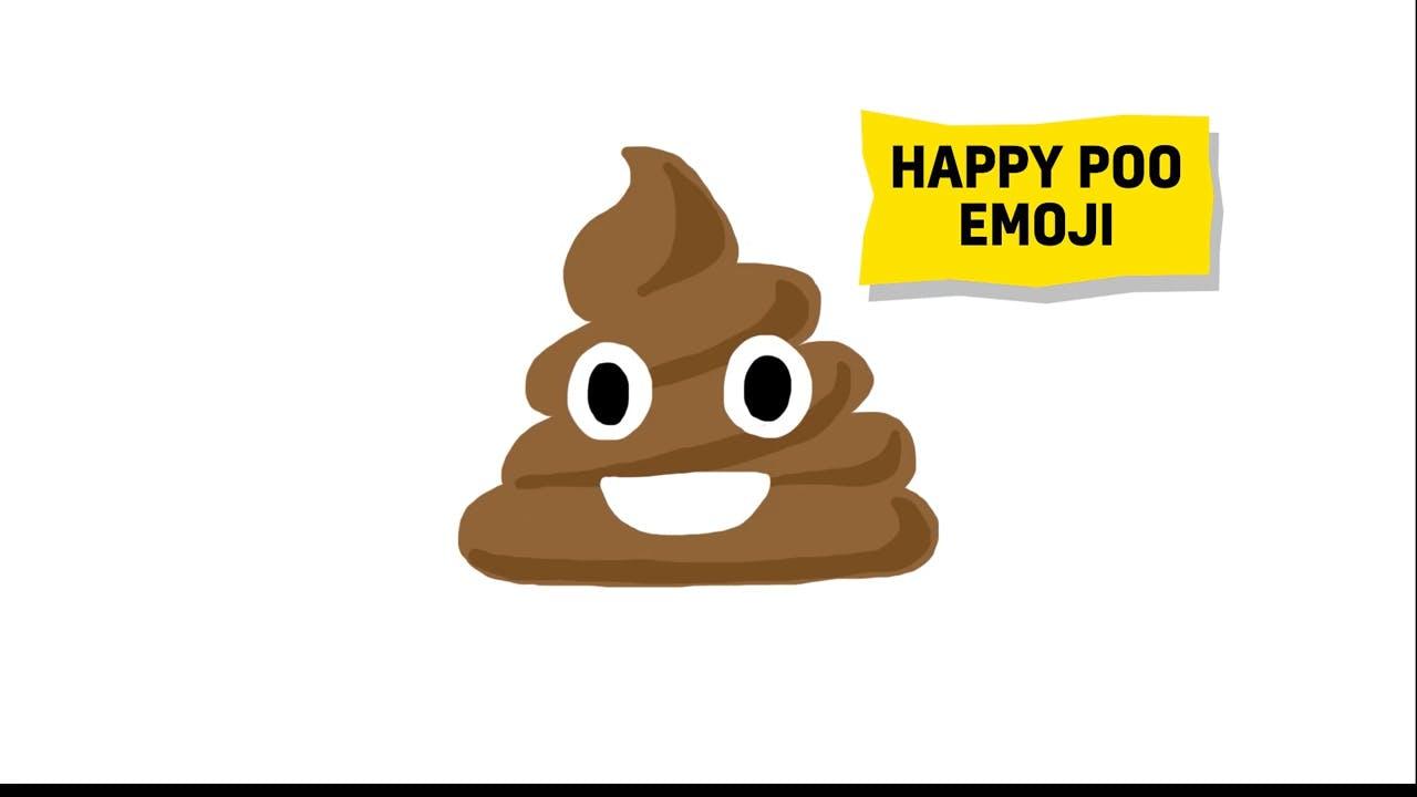 happy poo emoji