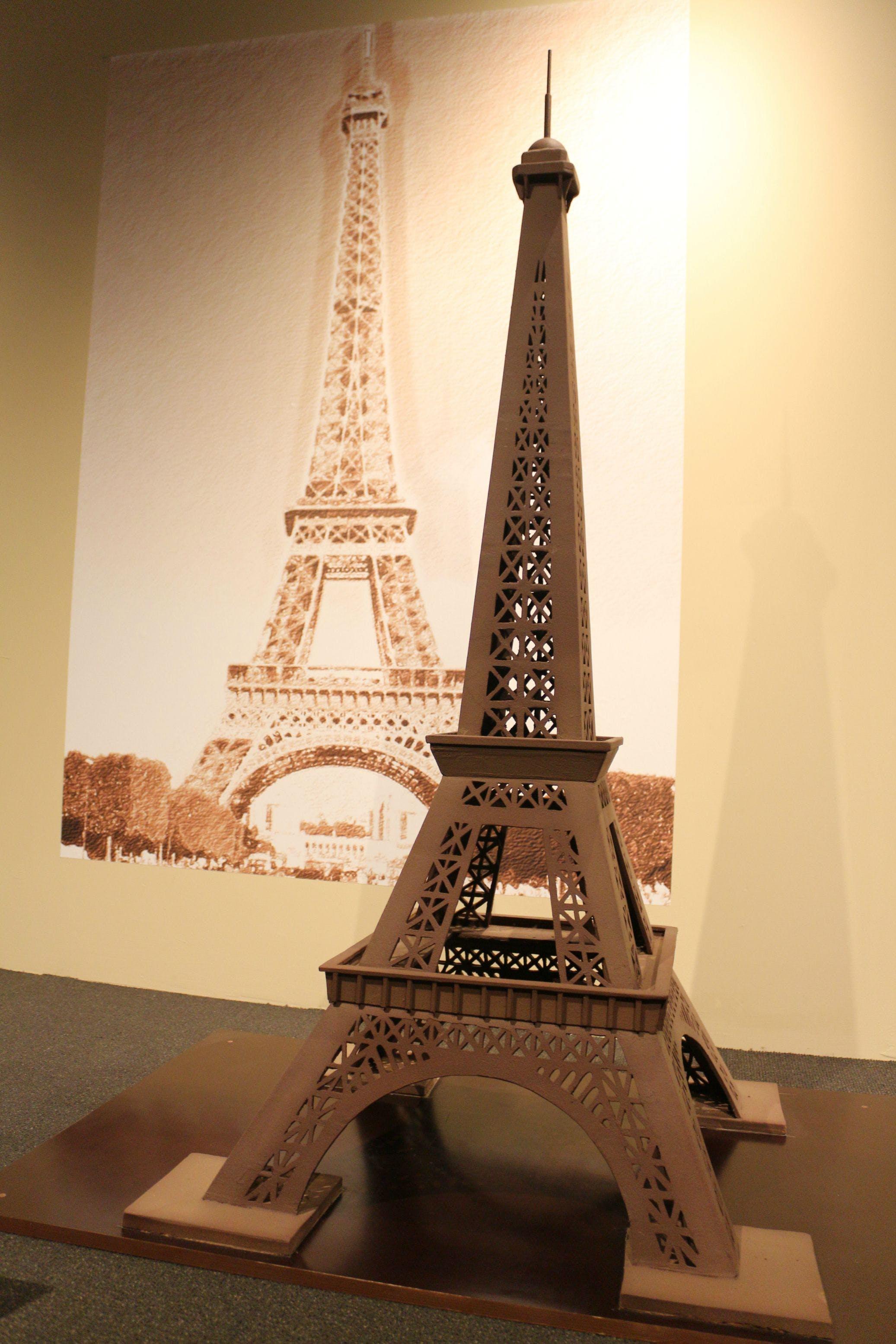 Chocolate Eiffel Tower