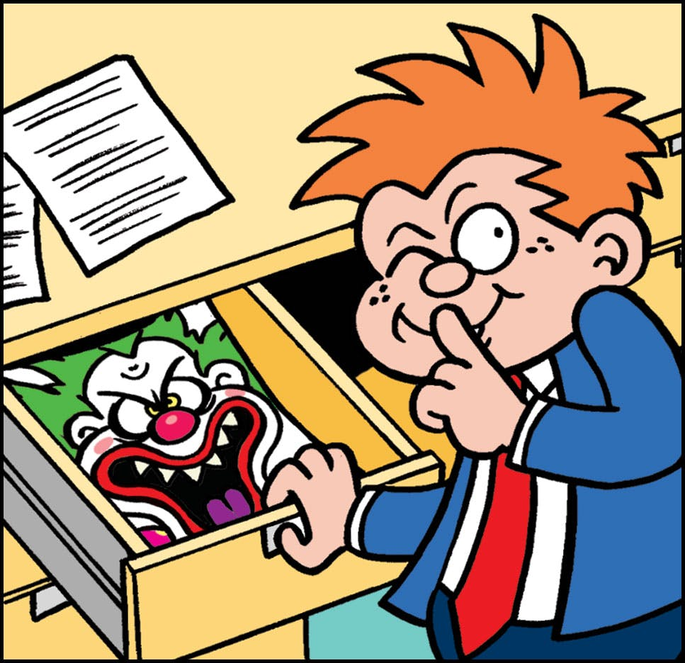 Tricky Dicky from Beano has a prank for you!