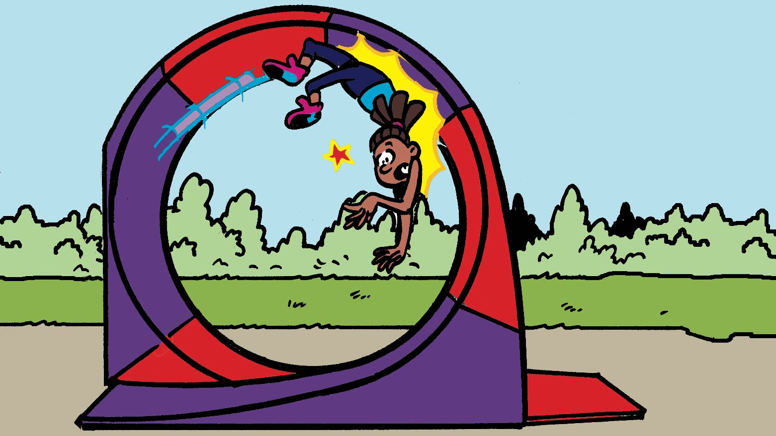 JJ's super stunts