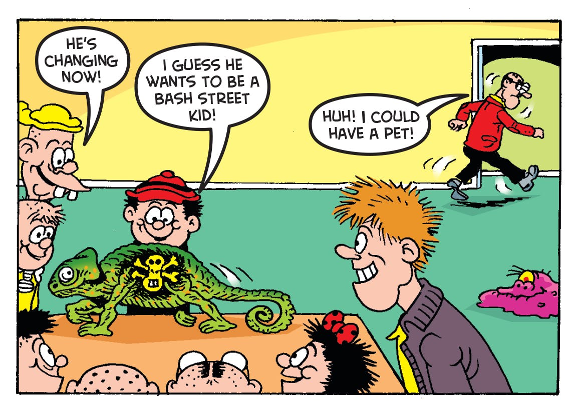 New Teacher On The Block - The Bash Street Kids